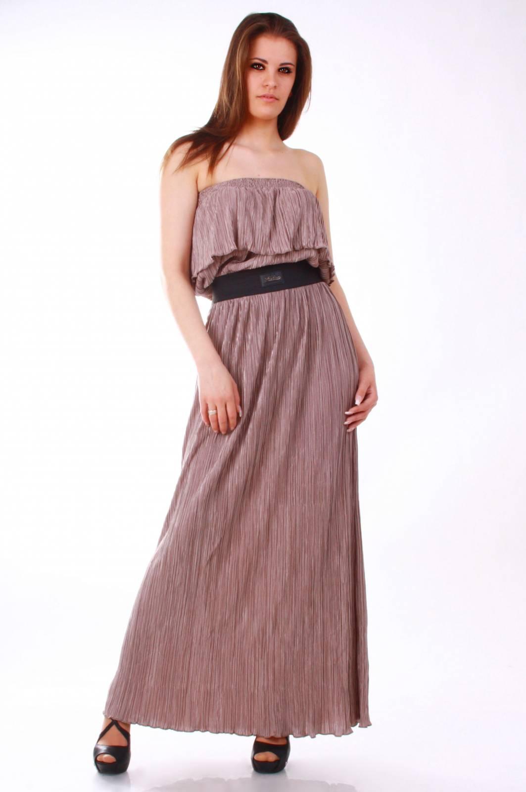 трикотажное цветное платье